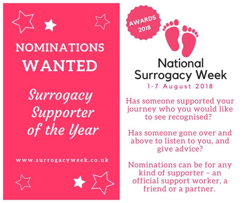 Surrogacy Supporter of the Year